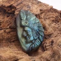Labradorite Indian Head 1
